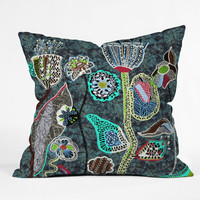DENY Designs Home Accessories | Mikaela Rydin Winters Bloom Outdoor Throw Pillow