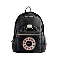This adorable backpack features a rotary phone motif and a working phone that hooks up to your cell so you can call up your bestie in style.