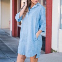 Country Creations Dress, Light Chambray