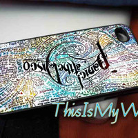Design Panic At The Disco Lyric Quotes for iPhone 4/4s, 5/5s, 5c and Samsung s3 i9300, s4 i9500