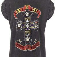 Guns And Roses Tour Tee By And Finally - Tops - Clothing