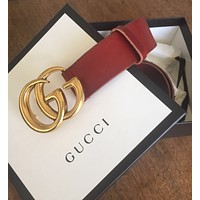 Gucci Marmont Wide Leather Belt Size 85
