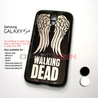 Team Wings The Walking Dead Design for Samsung Galaxy S4 Case