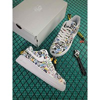 Nike Air Force 1 07 Logo Af1 Low Fashion Shoes