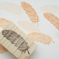 Feather stamp, Angel feather, Marriage invitation,Card making
