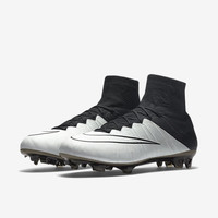 The Nike Mercurial Superfly Leather Men's Firm-Ground Soccer Cleat.
