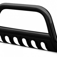"SteelCraft® 71020B - 3"" Black Powdercoat Bull Bar"
