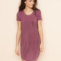 Faded TShirt Dress