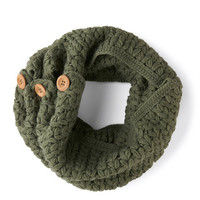 Tulle Clothing Stage Door Circle Scarf in Sage | Mod Retro Vintage Scarves | ModCloth.com