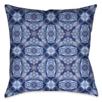 Mystery Blue Indoor Decorative Pillow
