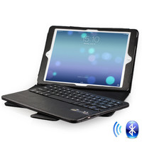 Removable Qwerty Keyboard Case for iPad Air 1 & 2 (5th/6th Gen, 2013/2014)