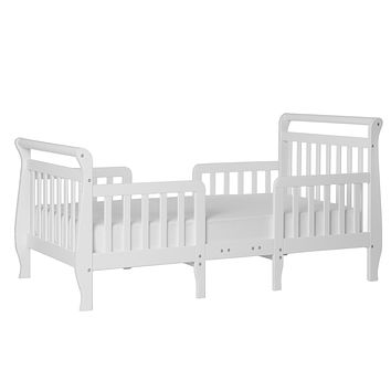Dream On Me Emma 3-in-1 Convertible Toddler Bed, White