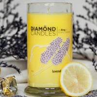 Lavender Lemon Candle - All Natural Soy Candles By Diamond Candles