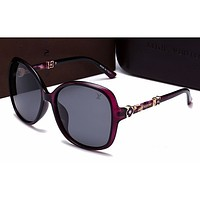 LV Women Casual Sun Shades Eyeglasses Glasses Sunglasses