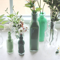 Decor DIY: Painted Glass Bottles - Free People Blog