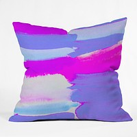 Rebecca Allen Shades and Shades Throw Pillow