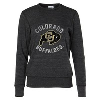 Official NCAA University of Colorado Buffaloes Women's Crew Neck Sweatshirt