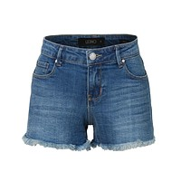 Distressed Cut Off Denim Shorts (CLEARANCE)