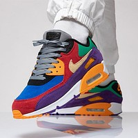 Nike Air Max 90 Easter Egg Series Men's and Women's Sports Casual Running Shoes