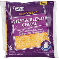 Great Value Finely Shredded Fiesta Blend Cheese, 32 oz - Walmart.com