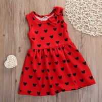 Sleeveless Minnie Mouse Dress