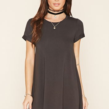 French Terry T-Shirt Dress
