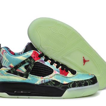 [Free Shipping ]Nike Air Jordan 4 Maple Leaves Basketball Sneaker-1