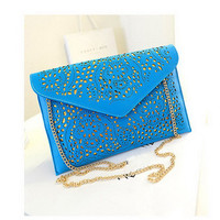 Hollow Out Vintage Envelope Clutches Shoulder Bags