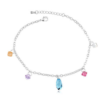 Stylish Shiny New Arrival Sexy Ladies Gift Jewelry Cute Crystal Anklet [6050340161]