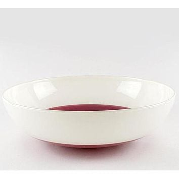 Low Profile Bowl - Hand Blown Glass Bowl by the Seattle Glassblowing Studio