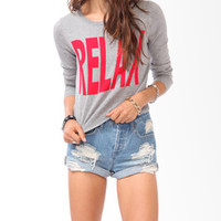 Colorblocked Relax Sweater