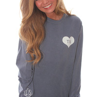state spirit long sleeve - Tennessee [blue]