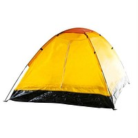 Whetstone? Two Person Tent with Carry Bag - Yellow