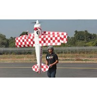 New Giant Scale 3D 4 CH BlitzRCWorks 2.4GHz Pitts Hybrid 3D BiPlane Radio Remote Control Electric RC Airplane RTF w/ Extreme 3D Performance Out Of The Box!