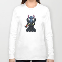 Can I Sit Here Long Sleeve T-shirt by Katie Simpson