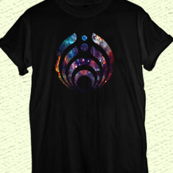 Bassnectar galaxy black and white , women and men clothing