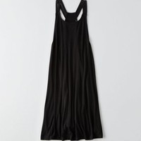 AEO Tiered Babydoll Dress, Navy   American Eagle Outfitters