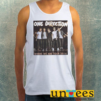 One Direction Where We Tour 2014 Clothing Tank Top For Mens