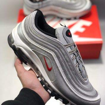 "Nike Air Max 97 QS""Metallic Pack"" cheap Men's and women's nike shoes"
