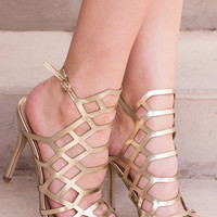 Addie Heels - Gold