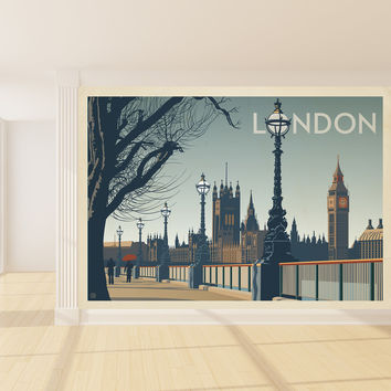 Anderson Design Group's London Mural wall decal