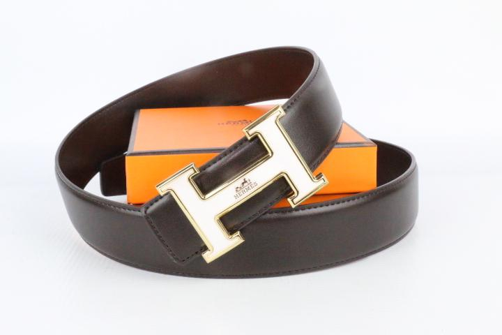 Image of Hermes belt men's and women's casual casual style H letter fashion belt314