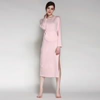 Summer Home Casual Cotton Hats Hoodies One Piece Dress [4918263300]