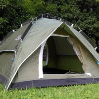 High quality Instant tent Automatic camping tent 3-4 person Double layer 190T Outdoor portable tents