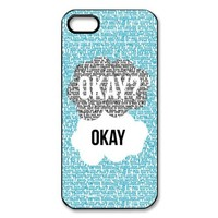 The Fault In Our Stars iPhone 5s Case Cover - Snap-on Hard-JD Design
