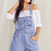 Urban Renewal Recycled '90s Denim Shortall Overall | Urban Outfitters