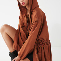 Vintage Overdyed Cotton Hoodie Jacket | Urban Outfitters