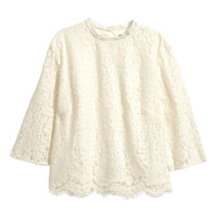 Lace Blouse - from H&M