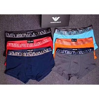 Armani Trending Multicolor Men Stylish Underpants Male Underwear Gift Box I12830-1