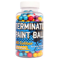 Palco Terminator Multi-Color .40-Cal. Paintballs 250-Pack - Overton's